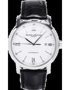 Chic Time | Montre Homme Baume & Mercier Classima 8592 Bracelet en cuir croco noir  | Prix : 1,094.50