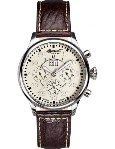 Chic Time | Montre Homme Ingersoll IN1824CR Marron  | Prix : 289,00 €