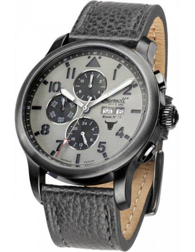 Chic Time   Montre Homme Ingersoll Bison IN1221GUGY Gris    Prix : 359,00€
