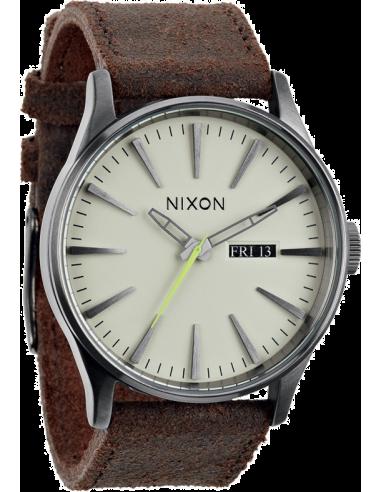 Chic Time | Montre Homme Nixon Sentry A105-1388 Marron  | Prix : 170,00€
