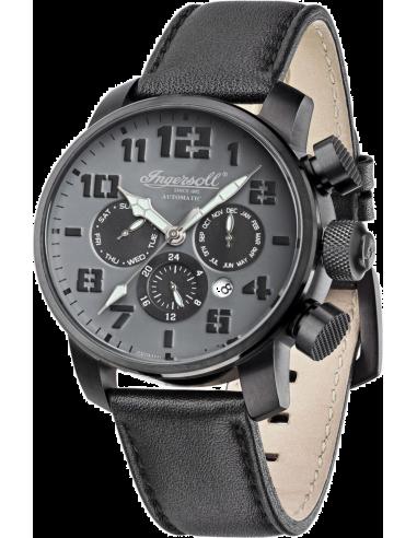 Chic Time | Montre Homme Ingersoll IN1224BKGY Noir  | Prix : 309,00€