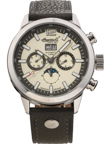 Chic Time   Montre Homme Ingersoll Classic IN1504CH Gris    Prix : 299,00€