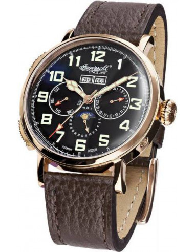Chic Time | Montre Homme Ingersoll Classic IN1917RBK Marron  | Prix : 379,00€