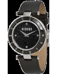 Chic Time | Montre Femme Versus by Versace Logo SP8050014 Noir  | Prix : 149,00€