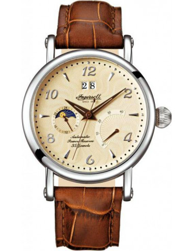 Chic Time | Montre Homme Ingersoll Classic IN4700CR Marron  | Prix : 229,00€
