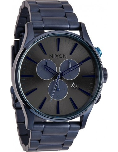 Chic Time   Montre Homme Nixon Sentry A386-1679 Bleu    Prix : 320,00€