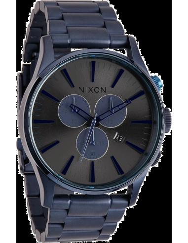 Chic Time | Montre Homme Nixon Sentry A386-1679 Bleu  | Prix : 320,00€