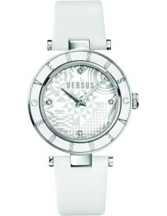 Chic Time | Montre Femme Versus by Versace Logo SP8040014 Blanc  | Prix : 149,00 €