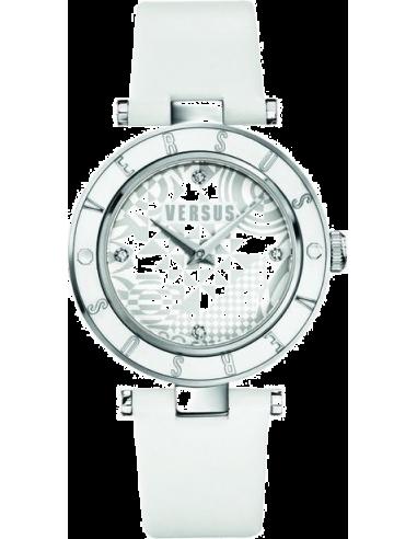 Chic Time | Montre Femme Versus by Versace Logo SP8040014 Blanc  | Prix : 149,00€