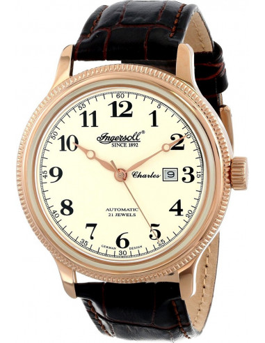 Chic Time | Montre Homme Ingersoll IN8004RCR Marron  | Prix : 169,00€