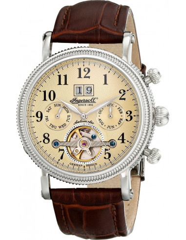 Chic Time   Montre Homme Ingersoll Classic IN1825CR Marron    Prix : 259,00€