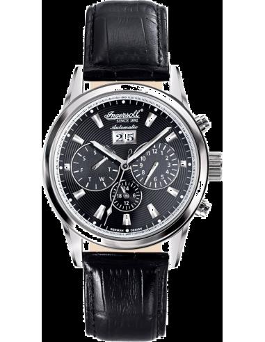 Chic Time   Montre Homme Ingersoll Classic IN1214BK Noir    Prix : 259,00€