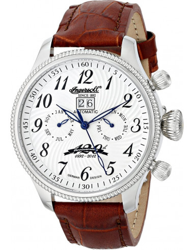Chic Time | Montre Homme Ingersoll Classic IN3106SL Marron  | Prix : 319,00€