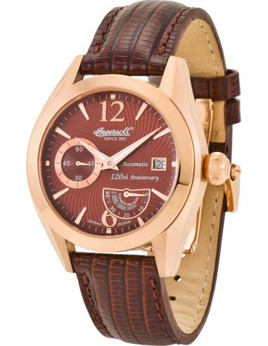 Chic Time | Montre Homme Ingersoll Classic IN8015RBR Marron  | Prix : 179,00 €