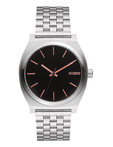 Chic Time | Montre Femme Nixon Time Teller A045-2064 Argent  | Prix : 99,00€