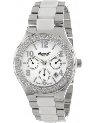 Chic Time | Montre Femme Ingersoll Archive IN7201WH Blanc  | Prix : 199,00 €