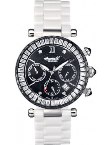 Chic Time | Montre Femme Ingersoll IN7216BKMB Blanc  | Prix : 229,00 €
