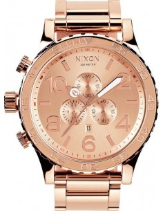 Chic Time | Montre Homme Nixon A083-897 Or Rose  | Prix : 629,00€
