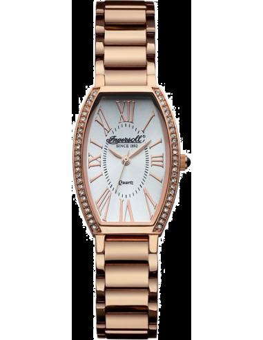 Chic Time | Montre Femme Ingersoll Quartz INQ021SLRS Or Rose  | Prix : 189,00€