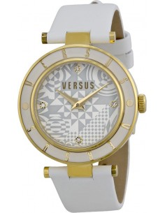 Chic Time | Montre Femme Versus by Versace Logo SP8070014 Blanc  | Prix : 189,00 €