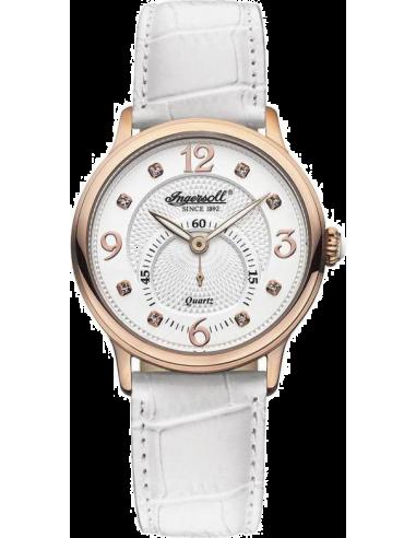 Chic Time | Montre Femme Ingersoll Quartz INQ022WHRS Blanc  | Prix : 219,00€