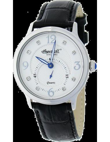 Chic Time | Montre Femme Ingersoll Quartz INQ022WHSL Noir  | Prix : 219,00€