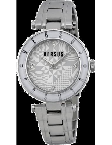 Chic Time | Montre Femme Versus by Versace Logo SP8100014 Argent  | Prix : 249,00€