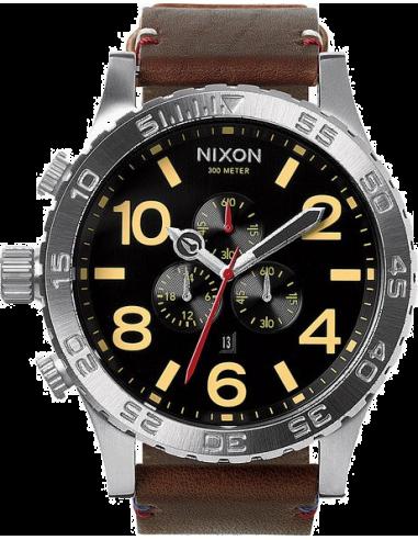 Chic Time | Montre Homme Nixon A124-019 Marron  | Prix : 380,00€