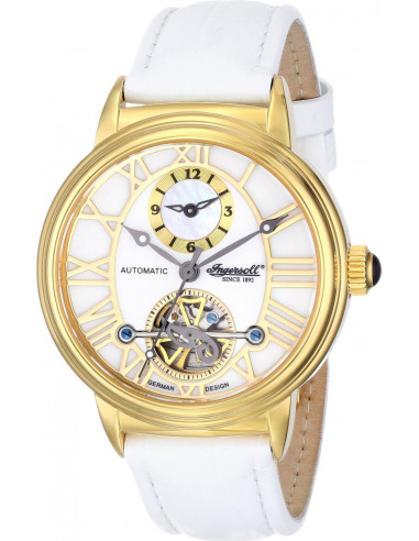 Chic Time   Montre Femme Ingersoll IN5004GWH Blanc    Prix : 429,00€