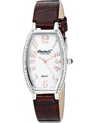 Chic Time | Montre Femme Ingersoll Quartz INQ024WHBR Marron  | Prix : 209,00 €