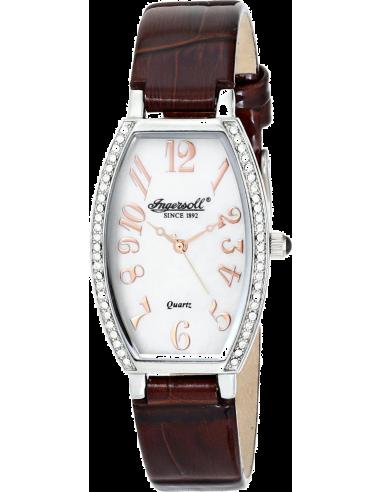 Chic Time | Montre Femme Ingersoll Quartz INQ024WHBR Marron  | Prix : 209,00€