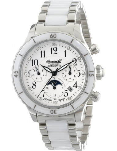 Chic Time | Montre Femme Ingersoll Classic IN2712WHMB Blanc  | Prix : 599,00 €