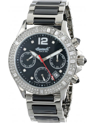 Chic Time | Montre Femme Ingersoll Classic IN7217BKMB Argent  | Prix : 649,00€