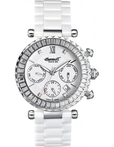 Chic Time | Montre Femme Ingersoll IN7216WHMB Blanc  | Prix : 679,00€