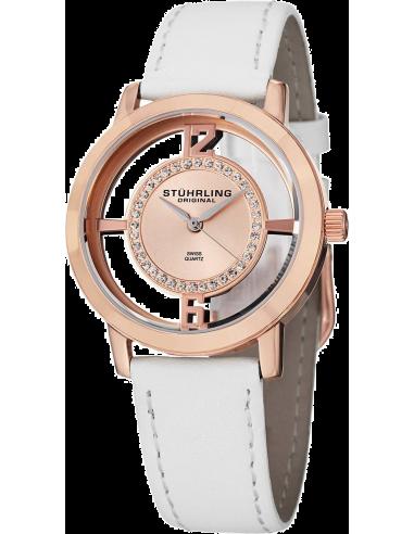 Chic Time | Montre Femme Stuhrling Original Symphony 388L2.SET.03 Blanc  | Prix : 159,00€