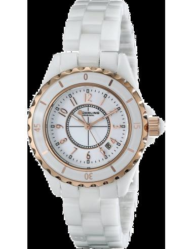 Chic Time   Montre Femme Stuhrling Original 530.114EW3 Blanc    Prix : 129,00€