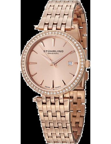 Chic Time   Montre Femme Stuhrling Original Symphony 579.04 Or Rose    Prix : 179,00€