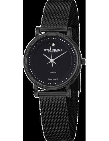 Chic Time | Montre Femme Stuhrling Original Vogue 734LM.03 Noir  | Prix : 169,00€