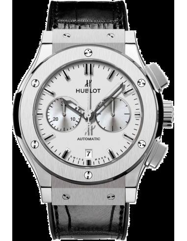 Chic Time | Montre Homme Hublot Classic Fusion 521.NX.2610.LR Noir  | Prix : 9,900.00