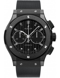 Chic Time | Montre Homme Hublot Classic Fusion 521.CM.1770.RX Noir  | Prix : 10,400.00