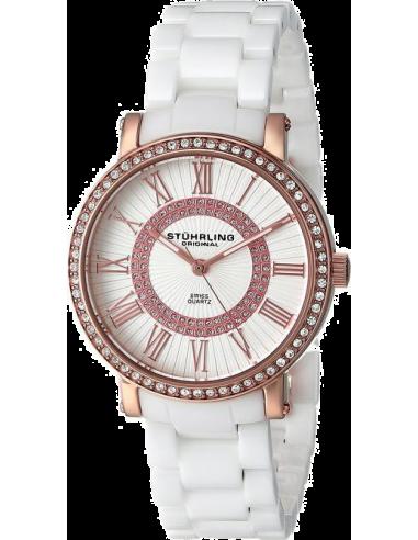 Chic Time | Montre Femme Stuhrling Original Symphony 630.03 Blanc  | Prix : 239,00€