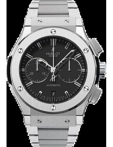 Chic Time   Montre Homme Hublot Classic Fusion 521.NX.1170.NX Argent    Prix : 10,900.00