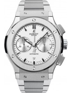 Chic Time   Montre Homme Hublot Classic Fusion 521.NX.2610.NX Argent    Prix : 10,900.00