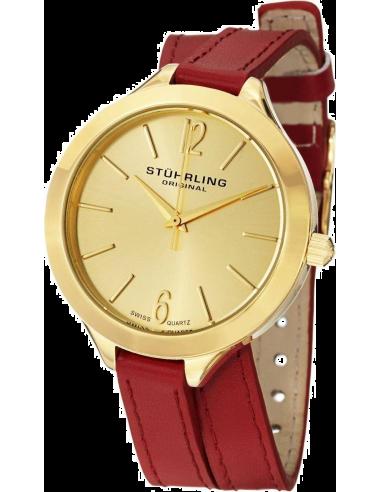 Chic Time | Montre Femme Stuhrling Original Vogue 568.02 Rouge  | Prix : 89,00€