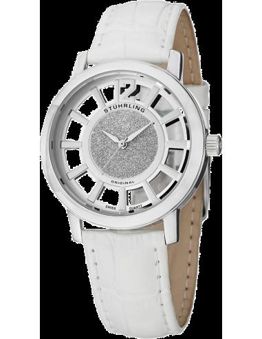 Chic Time | Montre Femme Stuhrling Original Vogue 388L.SET.01 Blanc  | Prix : 109,00€