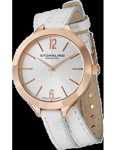 Chic Time | Montre Femme Stuhrling Original Vogue 568.03 Blanc  | Prix : 139,00€