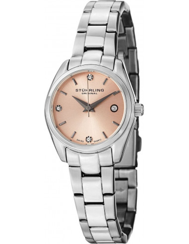 Chic Time | Montre Femme Stuhrling Original Symphony 414L.02 Argent  | Prix : 99,00€