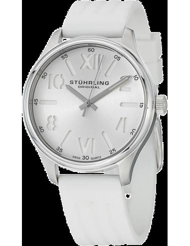 Chic Time | Montre Femme Stuhrling Original Vogue 565L.01 Blanc  | Prix : 79,00€