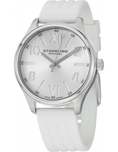 Chic Time | Montre Femme Stuhrling Original Vogue 565L.01 Blanc  | Prix : 79,00 €