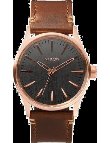 Chic Time | Montre Homme Nixon Sentry A377-2001 Marron  | Prix : 150,00€